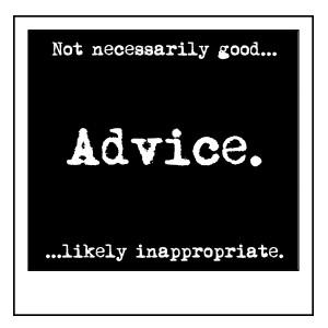 Git some advice.