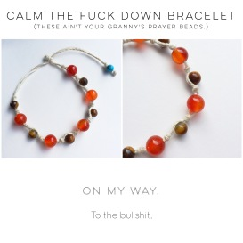 CTFD Bracelet from Sconnie Life on Etsy.