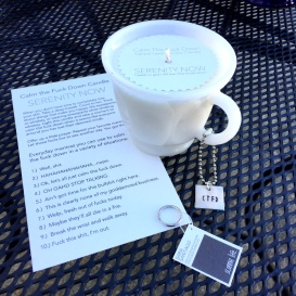 Serenity Now Candle CTFD Candles from Sconnie Life on Etsy