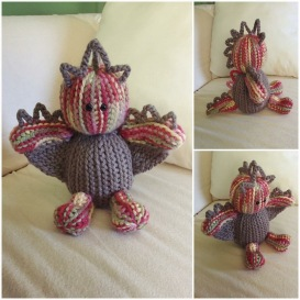 Crochet by Sara Santiago - amigurumi dragon