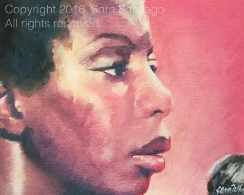 Nina Simone series - Sara Santiago